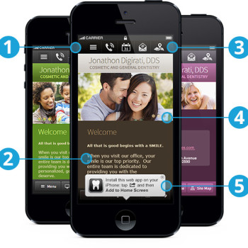 website optimized for mobile